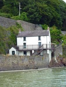 Boathouse from the Taf Estuary