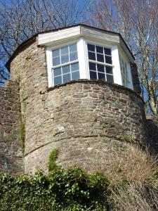 Gazebo, Laugharne Castle
