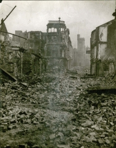 Swansea after the blitz