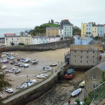 Discover Dylan Thomas's Rest of Wales - Image of buildings and boats