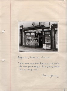 Ferguson's sweet shop